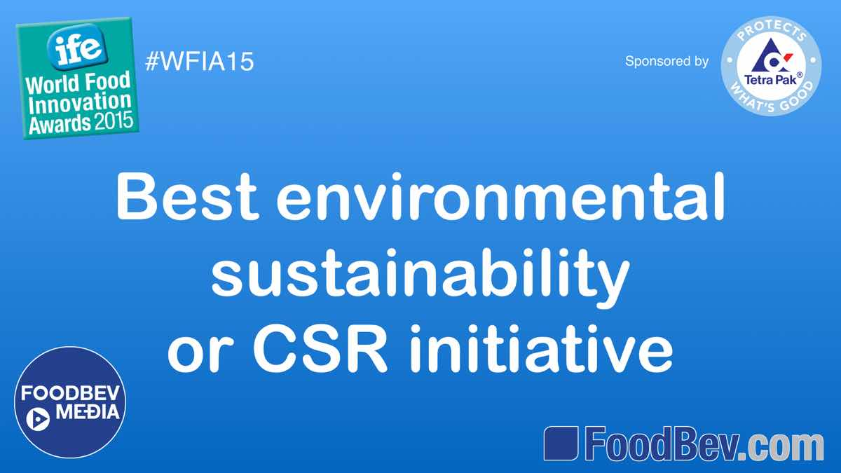 IFE World Food Awards – environmental sustainability and CSR trends