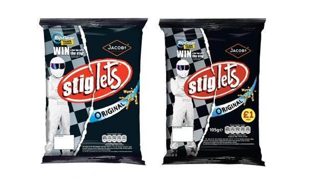 United Biscuits teams up with Top Gear for 'Stiglets' campaign