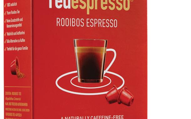 Rooibos tea brand launches Nespresso-compatible capsules
