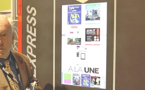 Interview: Presse Distribution Automatique proud of magazine vendor