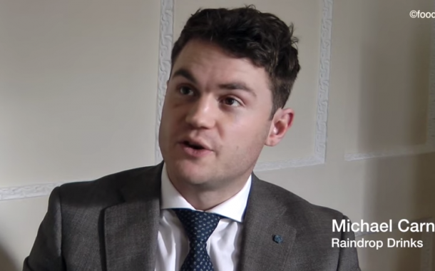 Interview: Michael Carney, CEO of Raindrop Vitamin Drinks