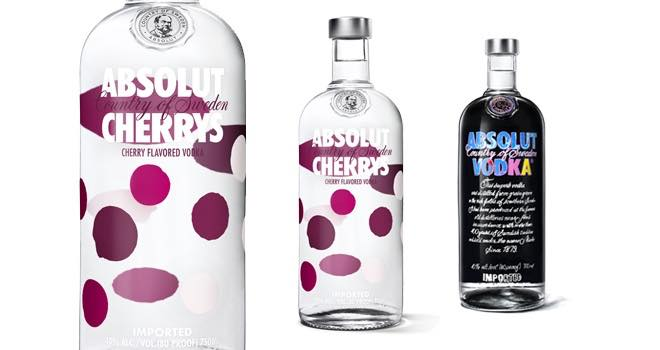absolut introduces cherry flavoured vodka for valentines day