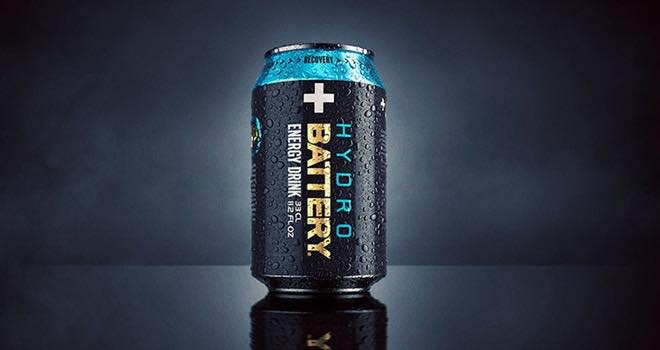 Energy Drink Brand Battery Hydro Launches New Lemon