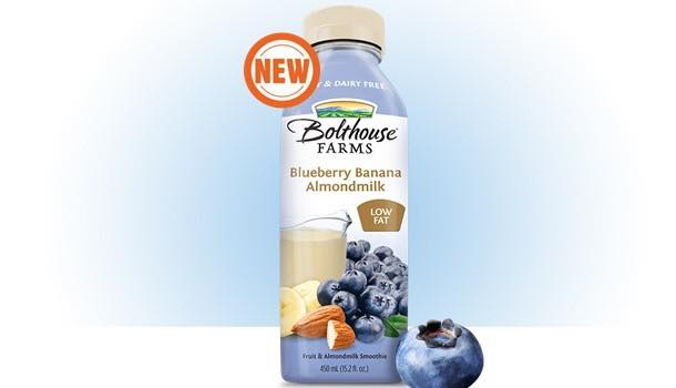 Bolthouse Farms launches dairy-free blueberry-banana almond milk