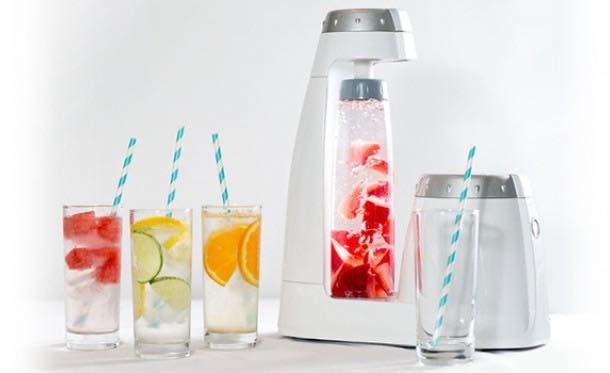 Bonne O – home carbonation system without a CO2 tank