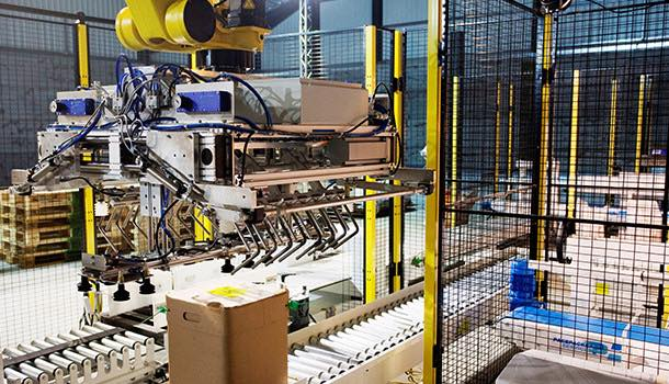 Robot palletiser launched by Fanuc