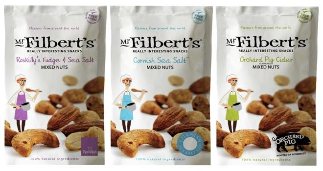 Snack Brand Mr Filberts Launches New Range Of Flavoured Mix Nuts