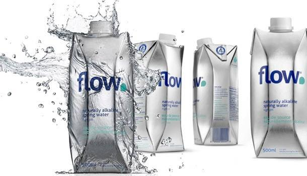Spring water brand Flow develops bottle that is 'thinner than an eggshell'