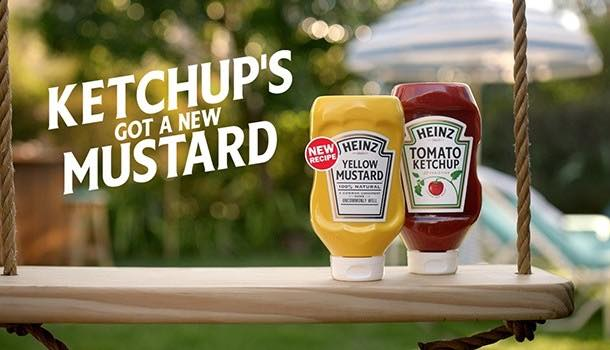 Heinz launches 'new, better tasting' yellow mustard