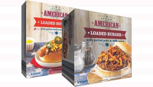 Iceland launches American diner-inspired frozen food range