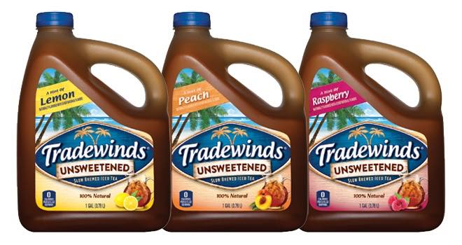 Zero-calorie unsweetened iced tea flavours launched in US