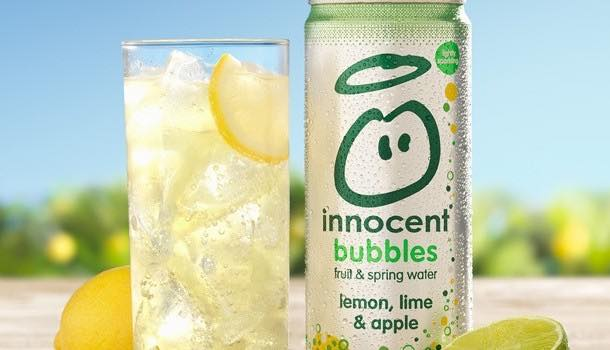 Innocent launches 'lightly sparkling' fruit juice and spring water blends