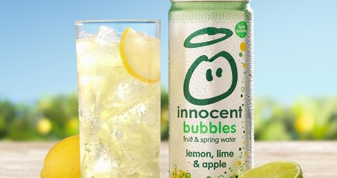 Innocent Fizzy Drink Can