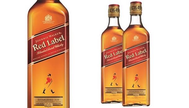 Diageo adds price-marked packs of Johnnie Walker Red Label whisky