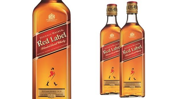 Diageo adds price-marked packs of Johnnie Walker Red Label