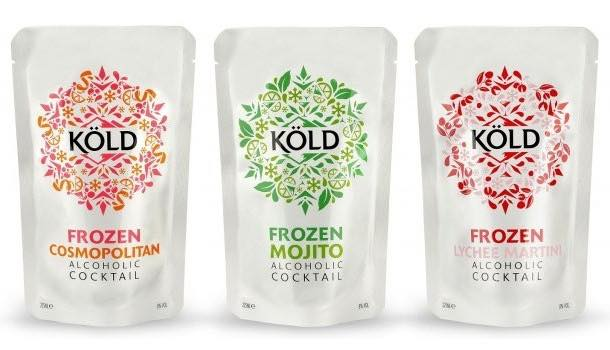 Köld to unveil frozen cocktails on Not on the High Street