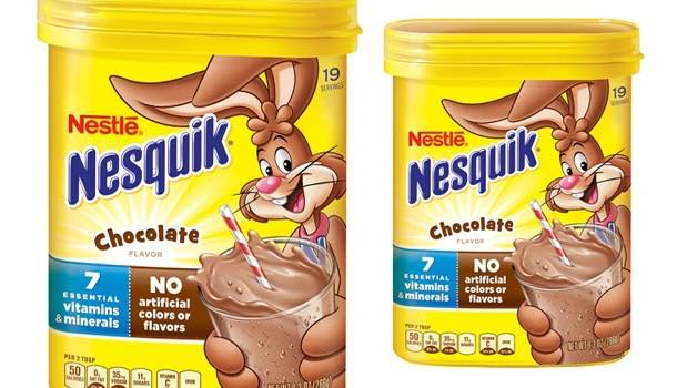 Nestlé reduces added sugar in Nesquik powders by up to 27%
