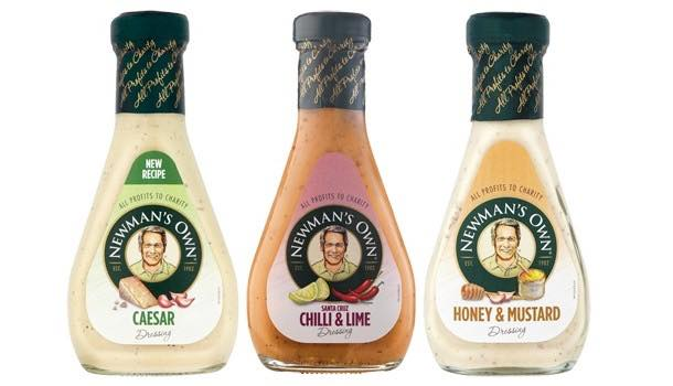 Newman's Own extends Tesco premium dressing listing