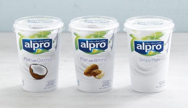 Alpro soya introduces almond and coconut varieties to plant-based line