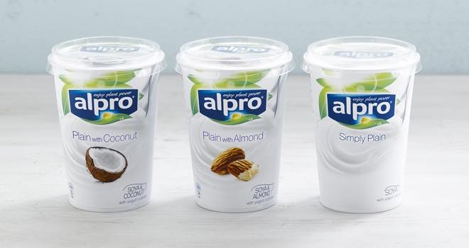 Alpro soya introduces almond and coconut varieties to for Alpro soya cuisine