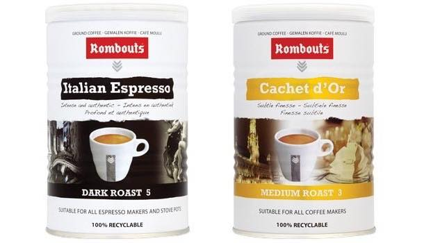 Rombouts launches two new ground coffee varieties