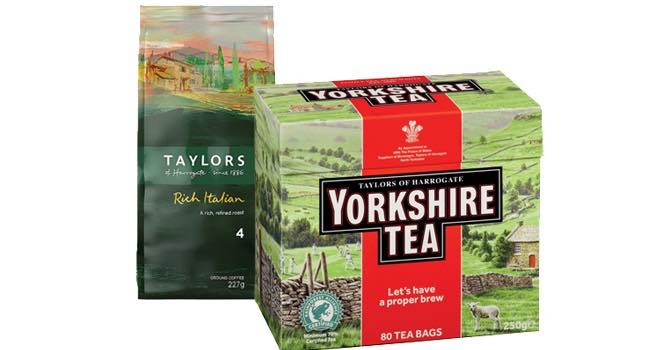 Mars Drinks adds Taylors of Harrogate tea and coffee to workplace offering