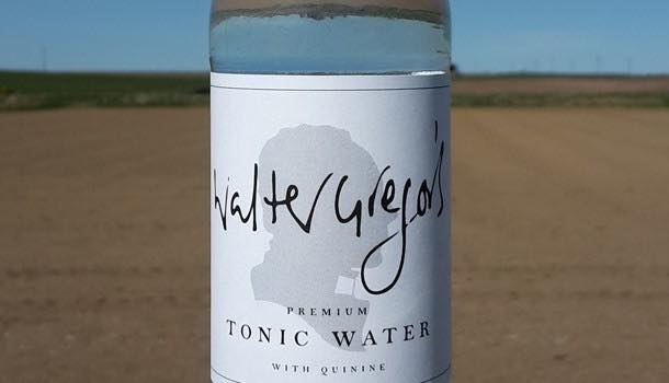 Walter Gregor's is 'first tonic water to be made in Scotland'