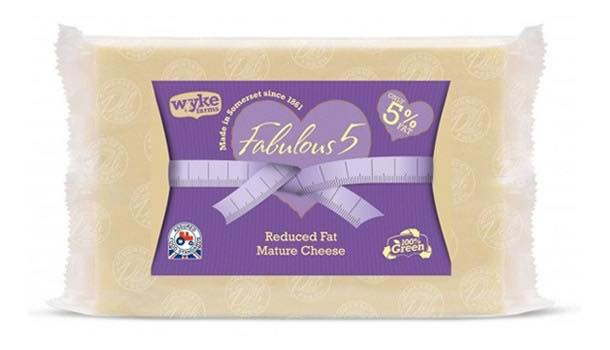 Wyke Farms launches new mature Fabulous 5 reduced-fat cheese