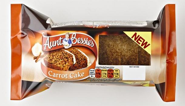 Aunt Bessie's launches first offering in ambient cake category