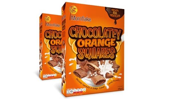 Cereal producer Mornflake launches chocolate-orange Squares