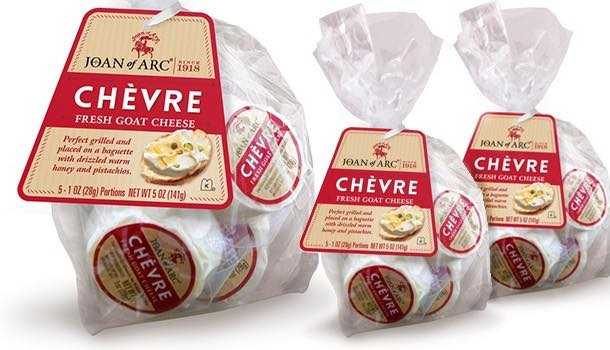 Speciality cheese producer Saputo releases goat's cheese medallions