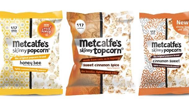 Metcalfe's introduces new flavour, pack design and impulse size format