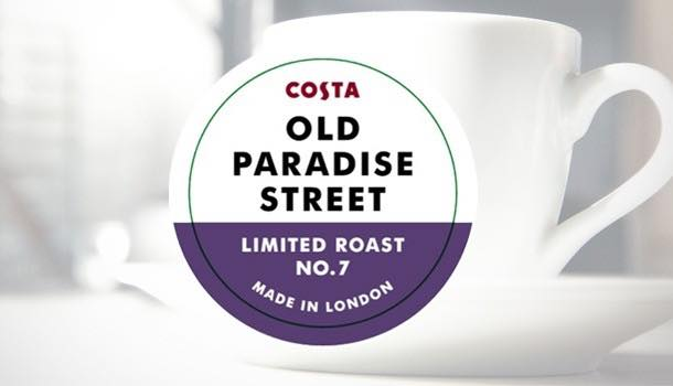 Costa Coffee launches Old Paradise Street Sumatran coffee blend