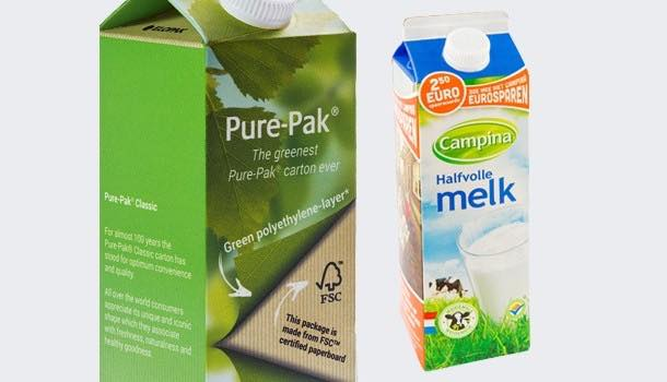 FrieslandCampina to roll out Elopak's bio-based Pure-pak carton