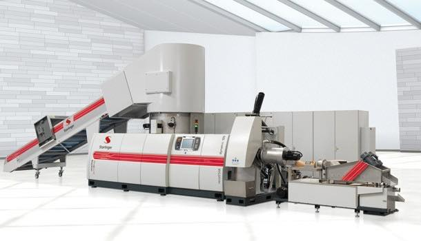 Starlinger's new recycling line 'reduces raw material consumption'