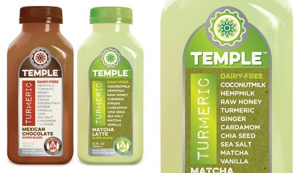 Temple Turmeric launches matcha latte and Mexican chocolate Super Blends