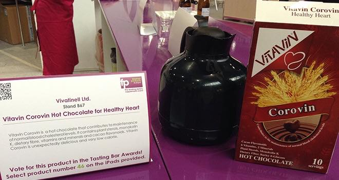 Vitafoods: Healthy hot chocolate and weight loss drinks