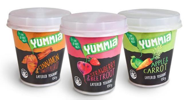 Breakfast brand Yummia launches new yogurts with vegetables