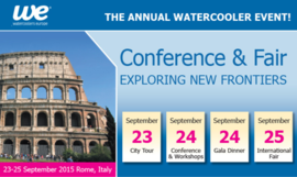 Watercoolers Europe 2015 Conference & Fair @ Rome | Lazio | Italy