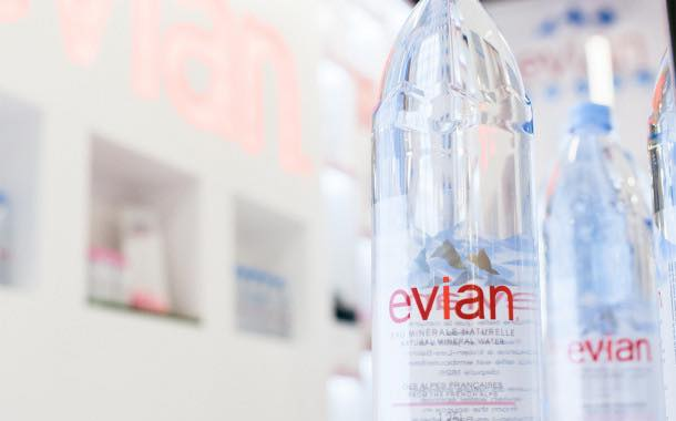 Evian aims to use only recycled plastic in its bottles by 2025