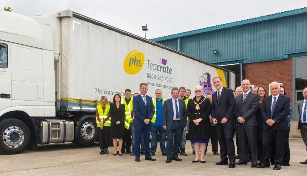 PHS Teacrate doubles capacity with investment in crate washing facility