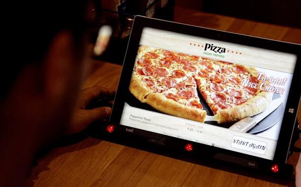 Pizza Hut's mind reading menu was also one of the top ranking innovations © Pizza Hut