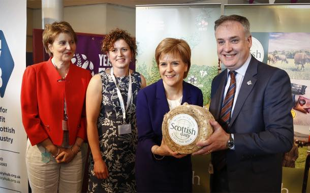 Scotland unveils fresh branding for country's dairy sector
