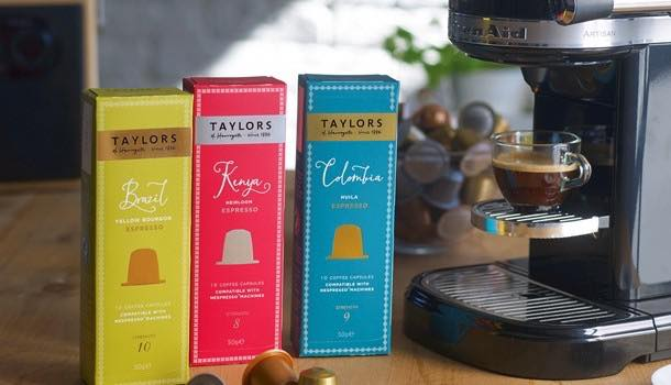 Taylors of Harrogate enters coffee pod market with new range of espressos