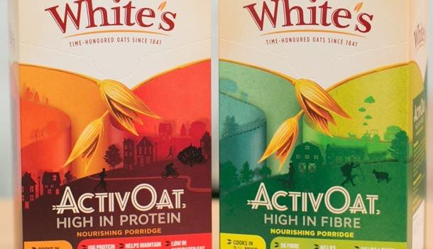 Oat miller White's launches porridge with twice the amount of protein