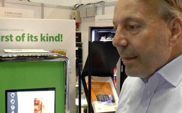Podcast: SandenVendo's touchscreen juice dispenser