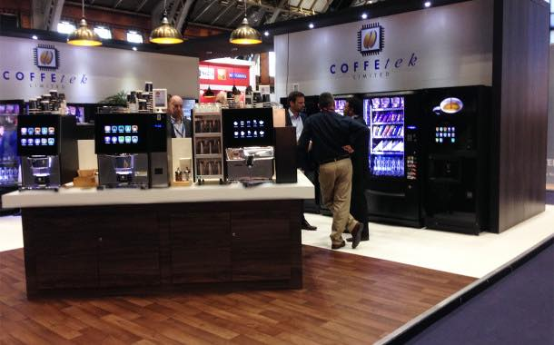 Avex 2015: Premium coffee vending and water innovations