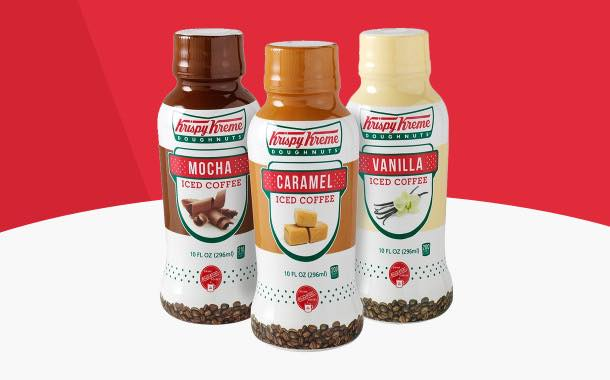 Krispy Kreme rolls ready-to-drink iced coffees out in retail