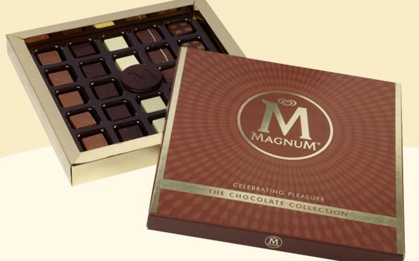 Magnum extends into premium chocolate confectionery lines