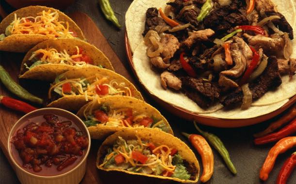 Mexican the UK's 'most experimented with' cuisine